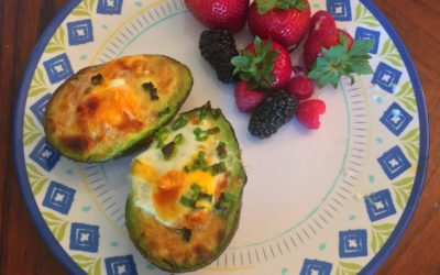 Paleo Egg Stuffed Avocado Recipe
